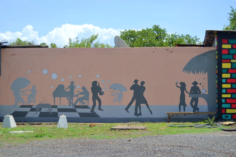 Decorazioni - Gentile-Polo_Murales-gazebo-camp1-Etiopia